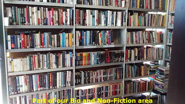 Part of our Bio and Non-Fiction area